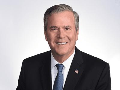 headshot of Jeb Bush