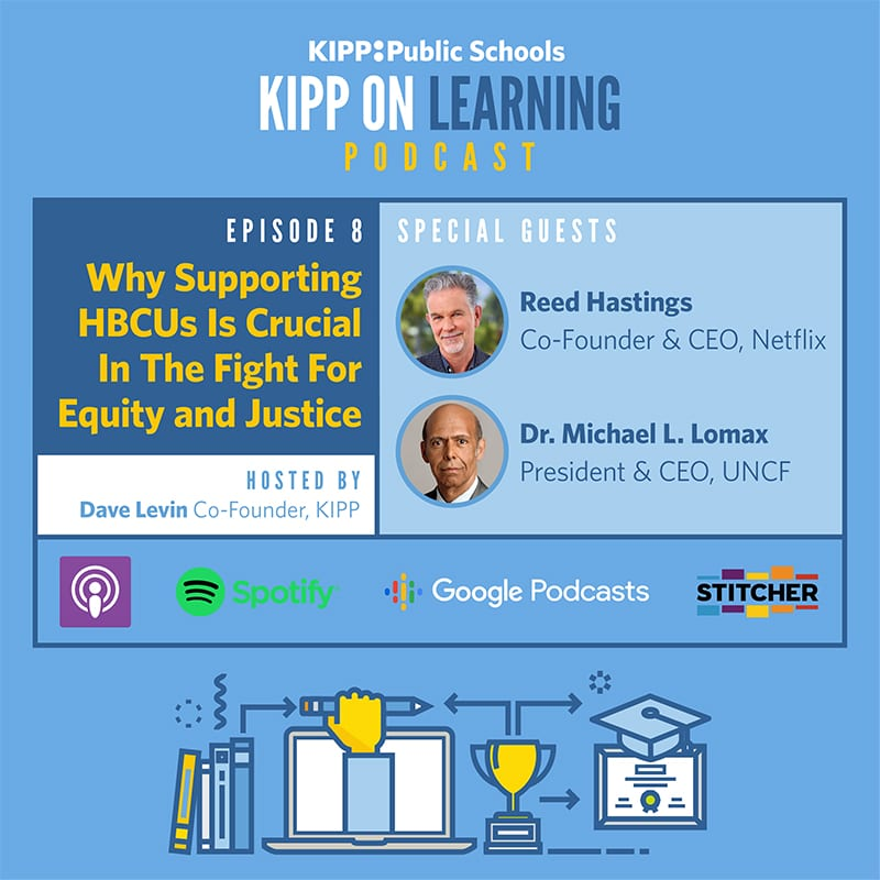 KIPP podcast title card