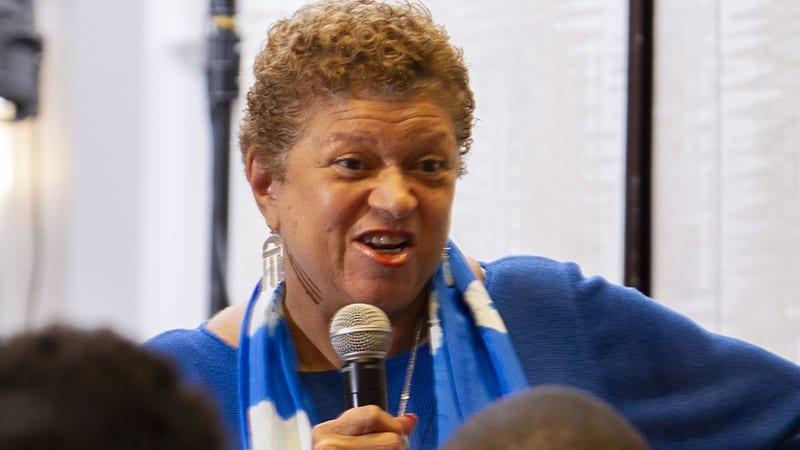 Linda Wilson at STEM Event