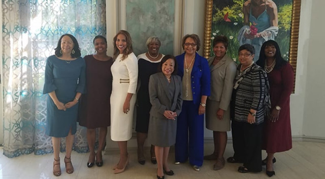 Group shot of UNCF female presidents
