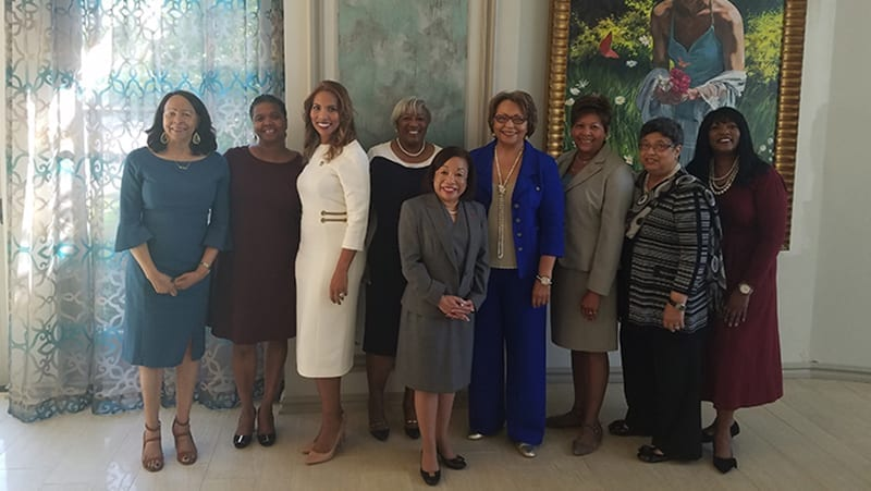 group shot of women presidents