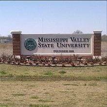 Mississippi Valley State University sign