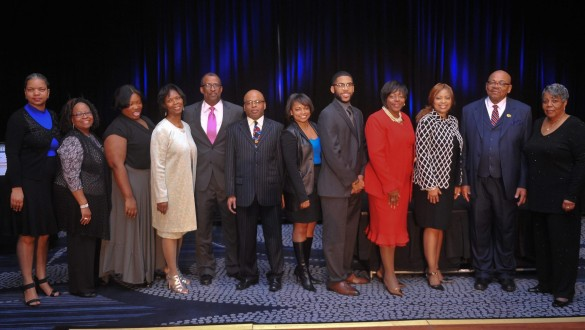 Group shot of National Alumni Council board members