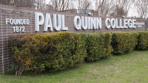 Paul Quinn College sign