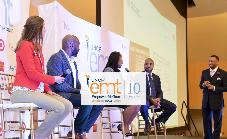 Participants at UNCF Empower Me Tour