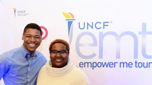 Participants at UNCF Empower Me Tour