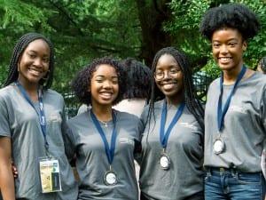 Participants in Fund 2 Foundation UNCF Stem Scholars program