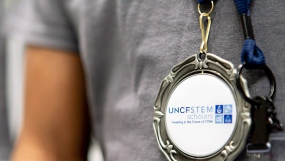 Medal for Fund 2 Foundation UNCF Stem Scholars program