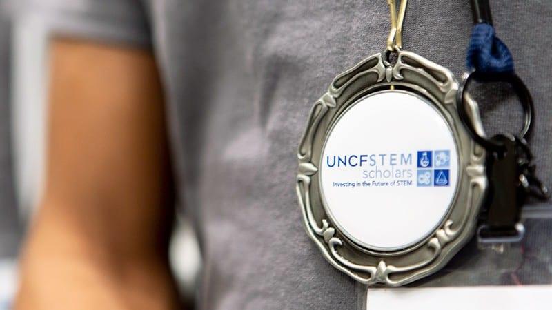Medal for Fund 2 Foundation UNCF Stem Scholars program