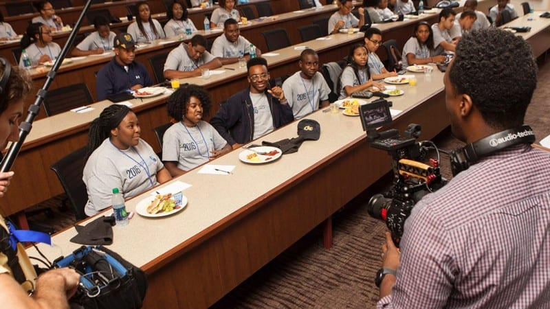 Participants in Fund 2 Foundation UNCF Stem Scholars program