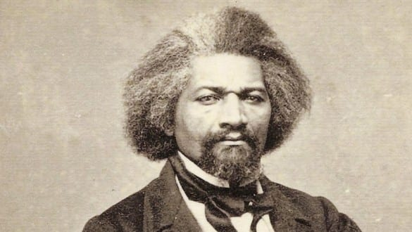 Headshot of Frederick Douglass