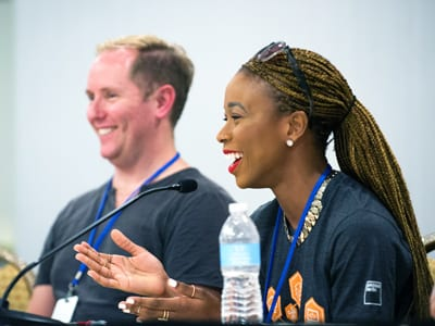 Participants at UNCF HBCU Innovation Summit