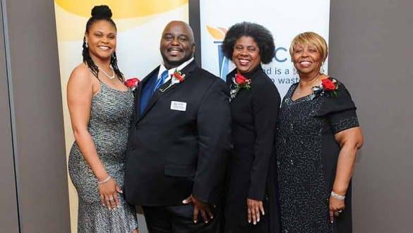 Group shot of UNCF National Alumni Council members