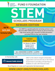 Neward STEM workshop flier
