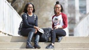 Shaw University female students