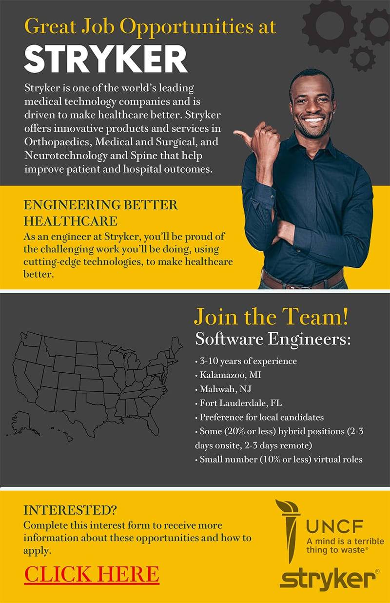 stryker recruitment flyer