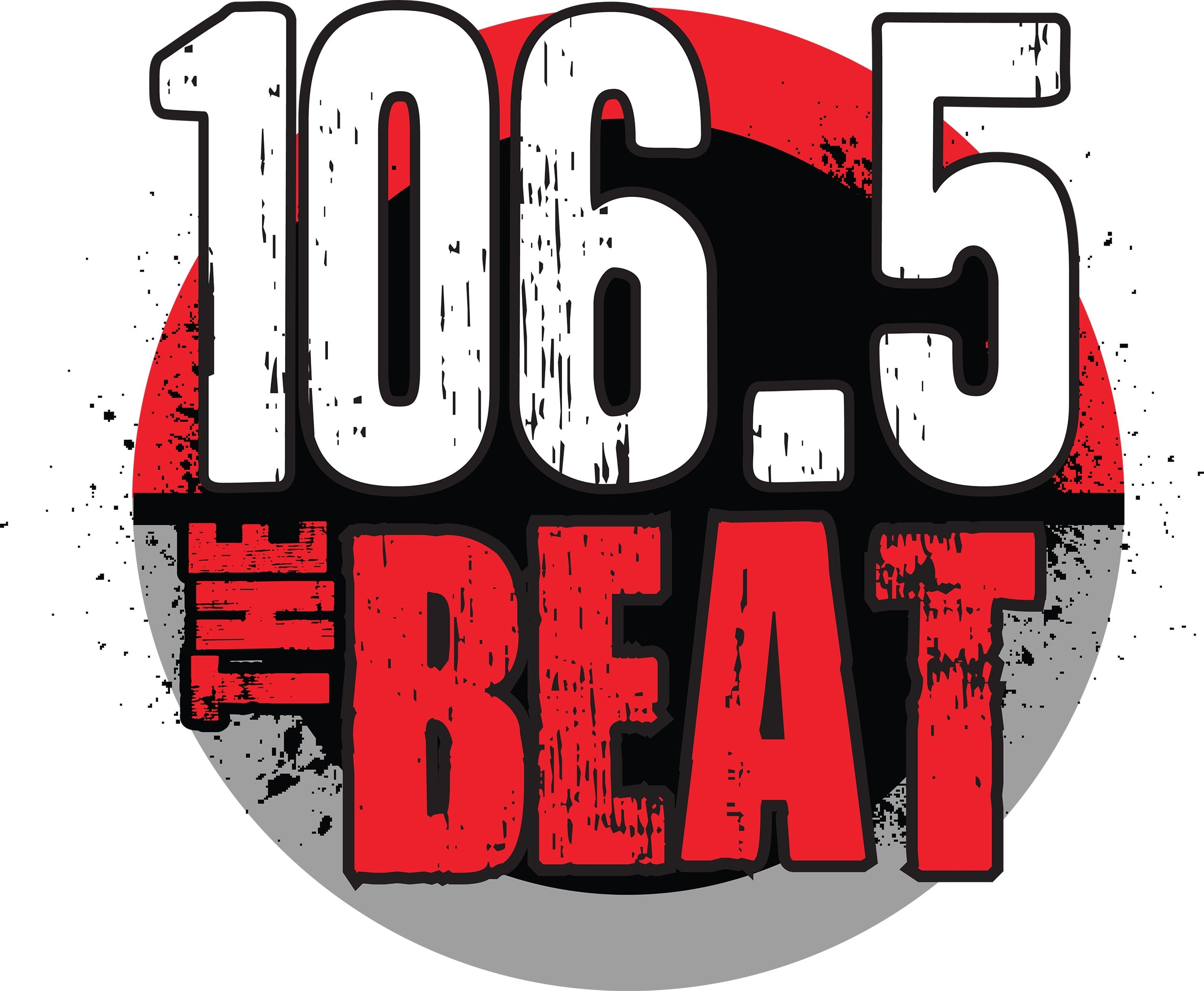 106.5 The Beat FM Logo