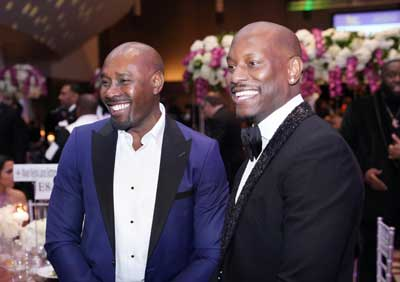 Actors Morris Chestnut and Tyrese