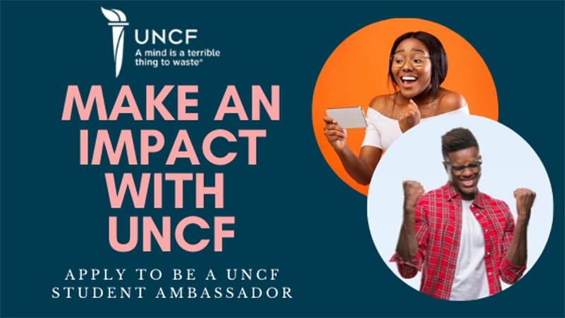 uncf ambassador banner