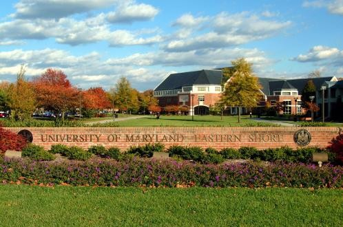 Sign for the University of Maryland Eastern Shore