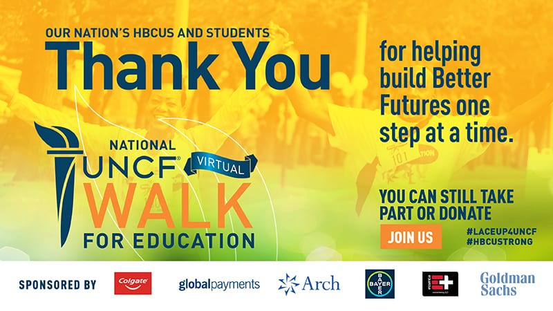 Virtual Walk banner image thank you