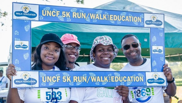 UNCF Walk for Education group shot