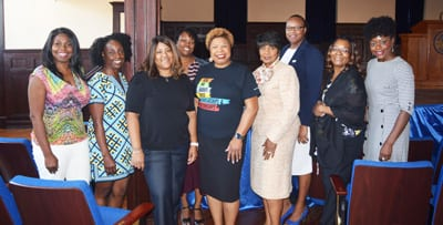 Group shot of UNCF Outreach participants