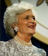 Barbara Bush, 1925-2018