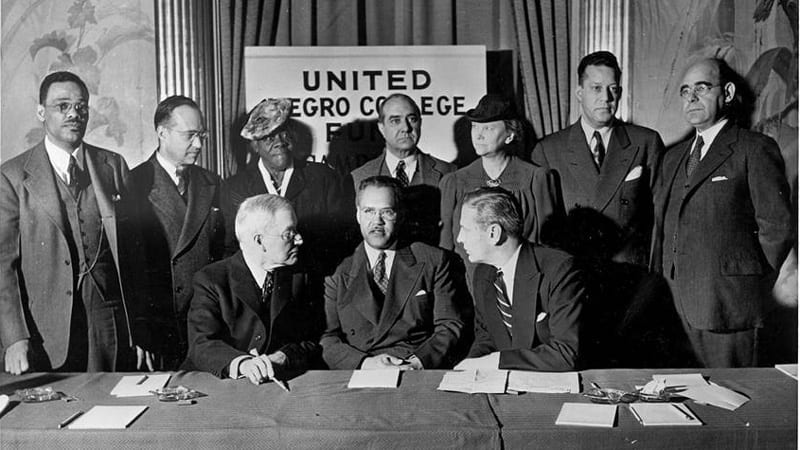 Photo of the UNCF Board in 1944