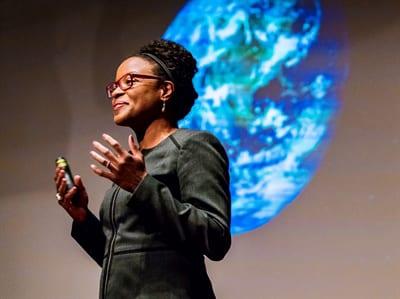 black female physicist
