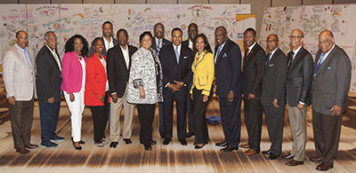 Group shot of UNCF Career Pathways Initiatives participants