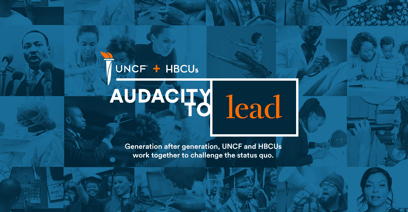 Audacity to Lead banner