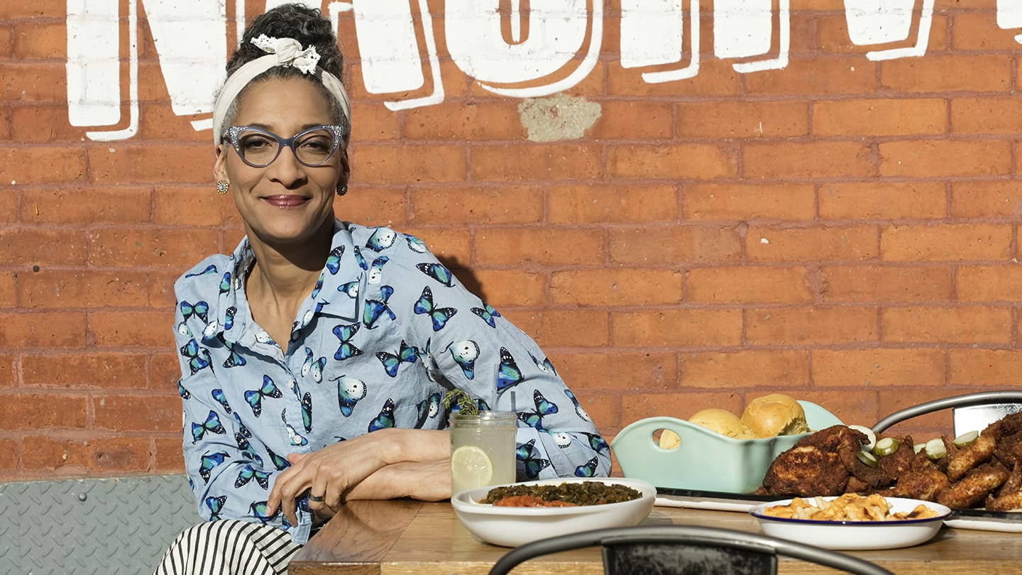 Carla Hall hero image
