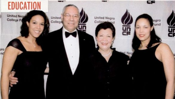 Colin Powell and Family