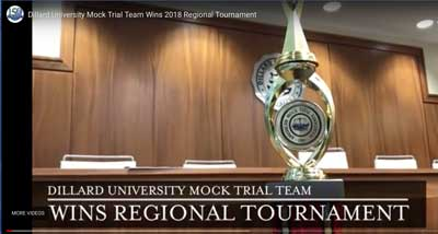 dillard mock trial video image