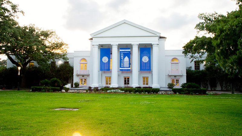 A Dillard Universtiy campus building