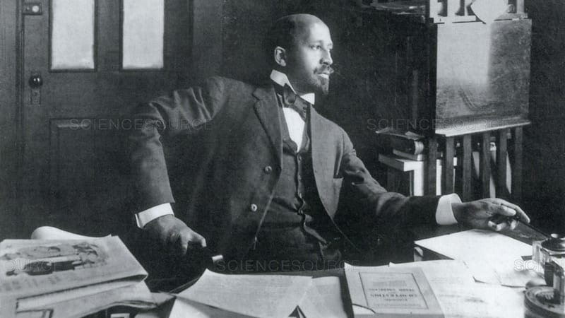 Headshot of WEB Du Bois