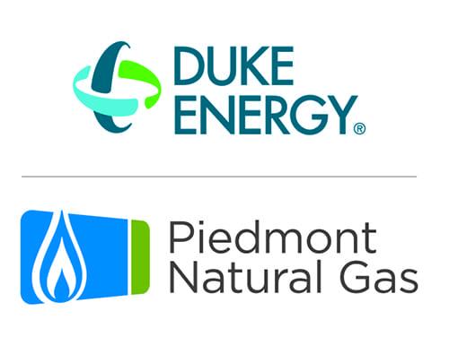 Duke Energy Piedmont Natural Gas logos