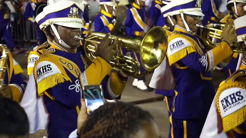 edna karr marching band