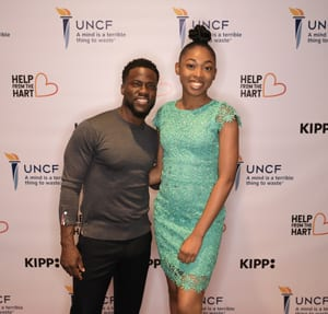 Kevin Hart and Dosha Warner