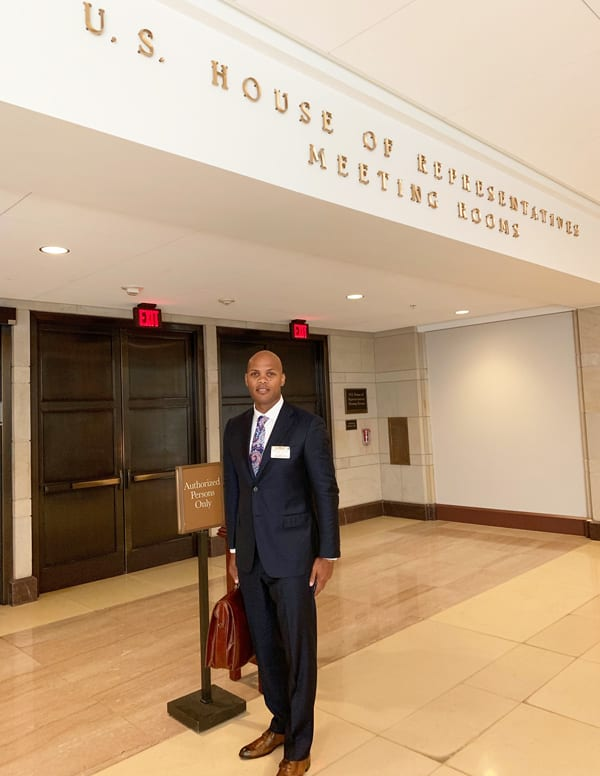 Dr. Felton on Capitol Hill