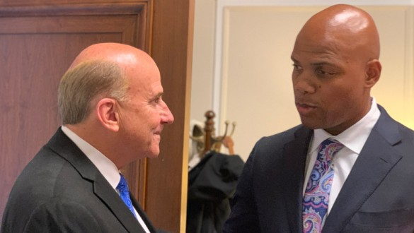 U.S. Rep. Louie Gohmert with Dr. Herman Felton