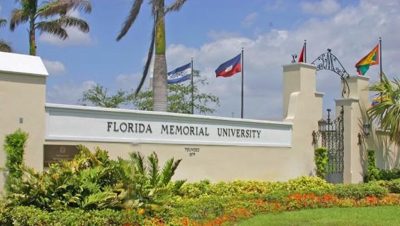 Florida Memorial University sign