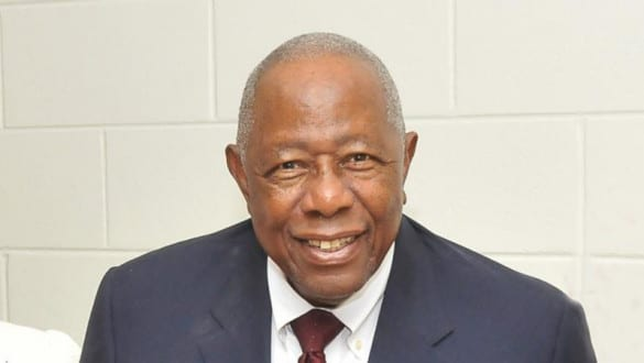Hank Aaron headshot