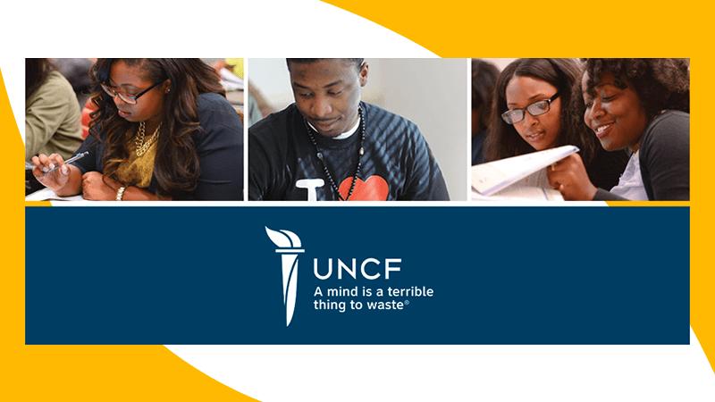 UNCF Donation Promo Logo