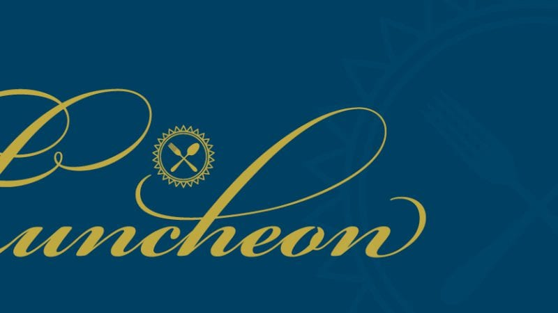 UNCF fundraising luncheon banner image