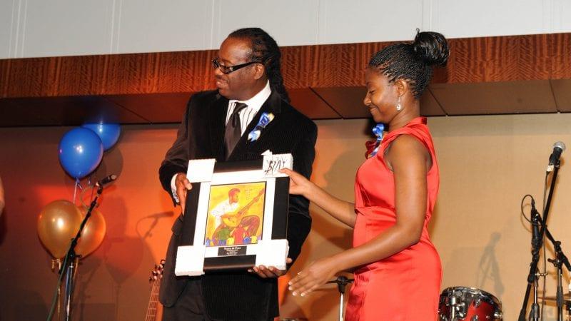 An Interdenominational Theological Center student receives award
