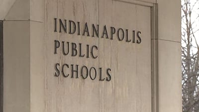 indianapolis public school sign