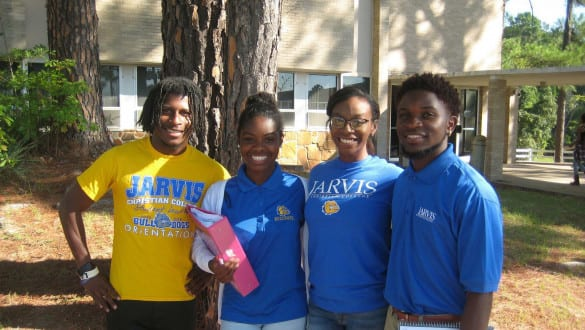 four jarvis college students