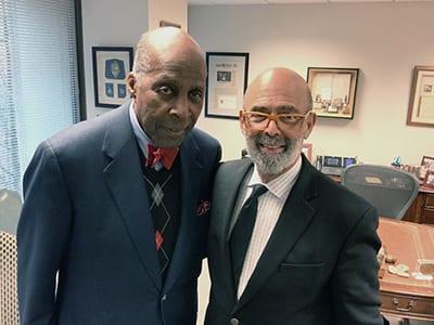 Vernon Jordan and Michael Lomax